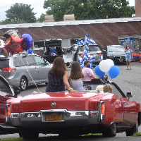 Elementary Schools Send off Fifth Graders with Parades, Drive-In Ceremonies