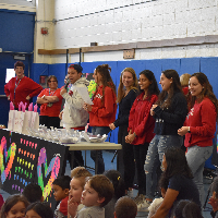 Students and Staff Go Red to Support Heart Health