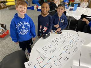 FGL Students and ozobots