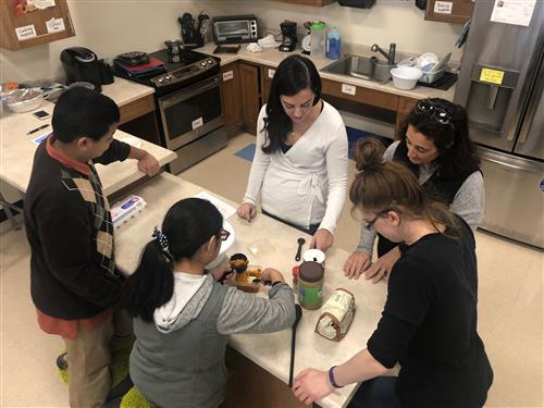 SAILOR Students Prepare Dog Treats