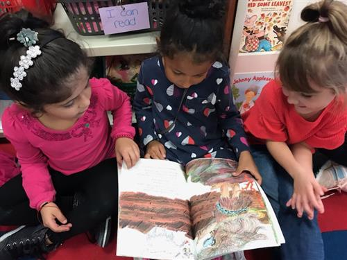 "FGL Kindergarten Students: ""We are Readers!"""
