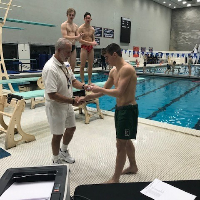 Sophomore Yanni Schattman Wins Section 1 Diving Championship for Second Straight Year